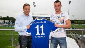 New challenge: Clemens is back in the Bundesliga after signing on with Schalke.