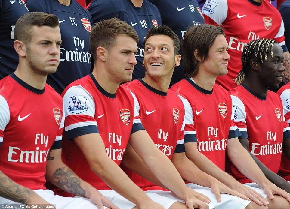 Ozil's dip in form has led to him looking over his shoulder.