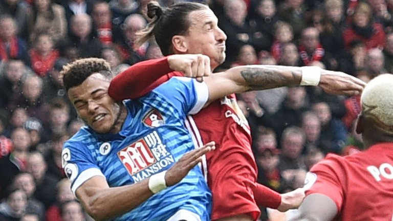 zlatan ibrahimovic elbows tyrone rings