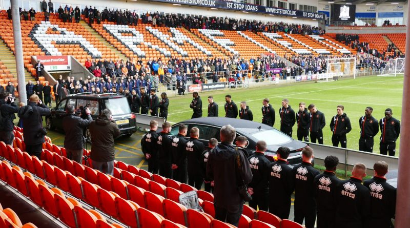 Funeral for former England captain Jimmy Armfield
