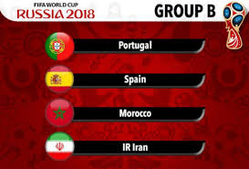 Group B World Cup 2018