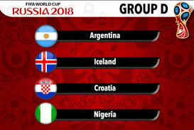 WorldCup 2018 Group D