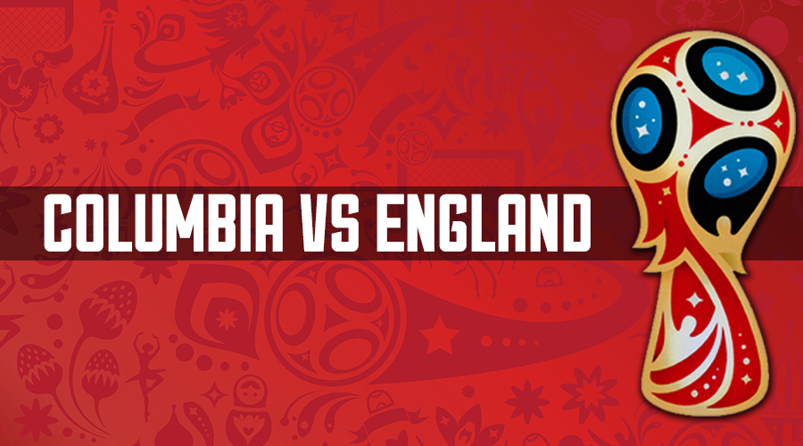 Columbia v England 2018 World Cup